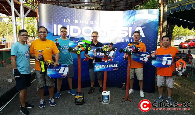 Indonesia Nats Championship Rd5 podium