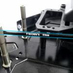 T-Works D817 aluminium centre dogbones 1