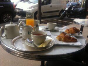 Café da manhã delicia!