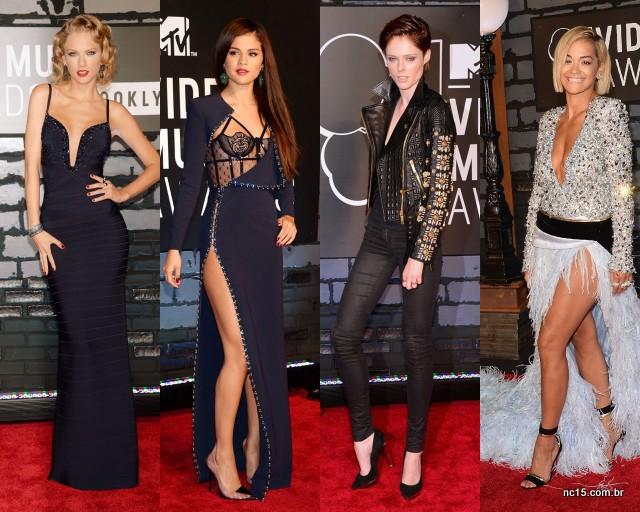 Taylor Swifit, Selena Gomez, Coco Rocha e Rita Ora