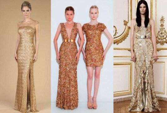 Dourado com estilo