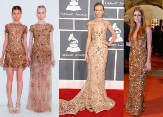 Dourado com glamour