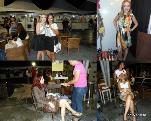 Compartilhando o brinde com Juh Francelino, do blog Bizu da Juh vestidinho que amei da loja Sophie As meninas recebendo mimos da  L'Occitane