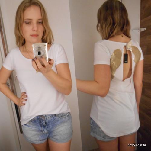 Segundo look Blusa: 45,90 Shorts: 69,90