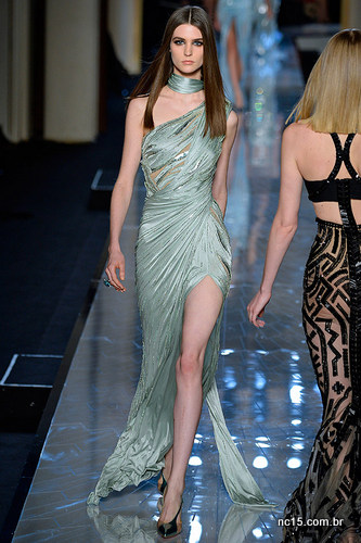 Vestido verde Versace