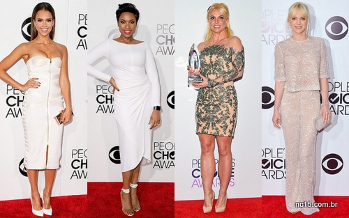 Imagens: Site da People  Jessica Alba, Jennifer Hudson, Britney Spears e Anna Faris