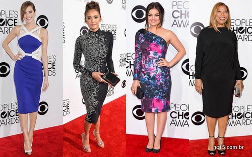 Imagens: Site da People Allison Williams, Nina Dobrev, Lucy Hale e Queen Latifah