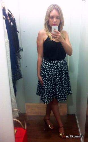 Meu Look Polka Dots