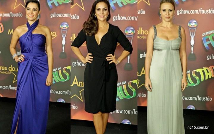 Patricia Poeta, Ivete Sangalo e Giulia Gam no melhores do ano da Globo
