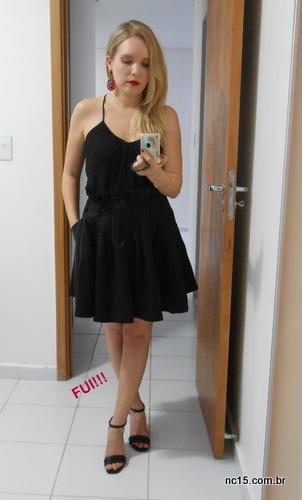 meu look total black