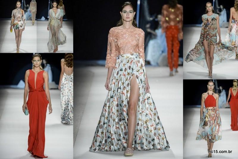 Desfile de Victor Dzenk no Fashion Rio Verão 2015