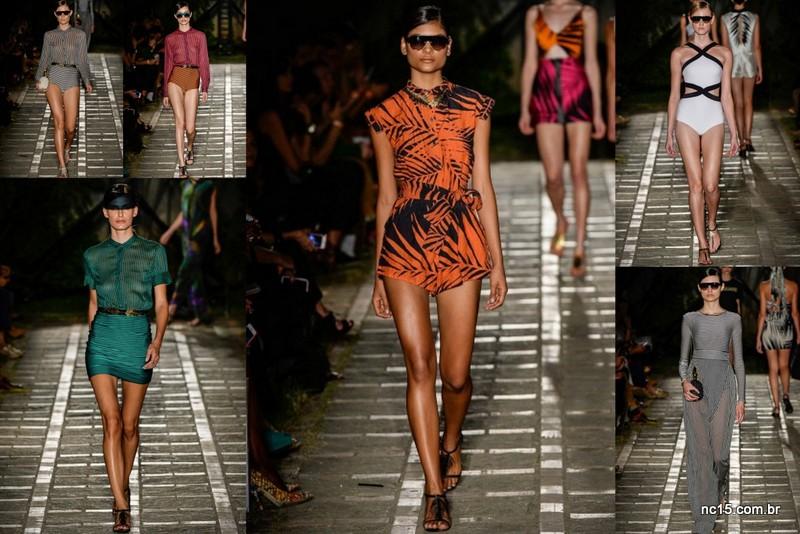 Osklen Praia no Fashion Rio
