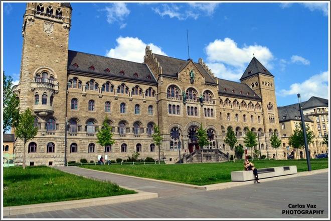 Koblenz - Altes Regierungsgebäude - Antigo Edifício do Governo Prussiano, hoje e Ministério Federal da Defesa