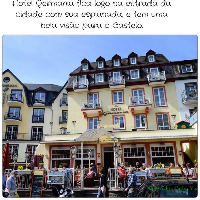 hotel Germania em Cochem