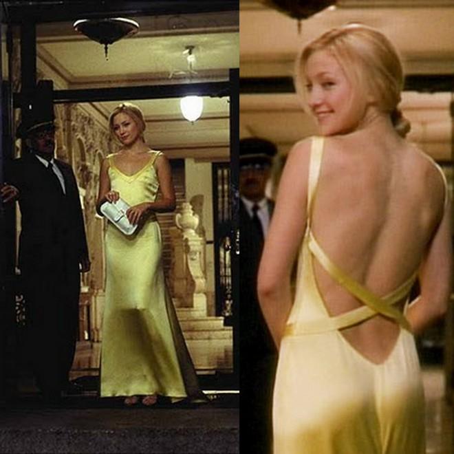 Kate Hudson de vestido amarelo no filme Como Perder um Homem em 10 Dias