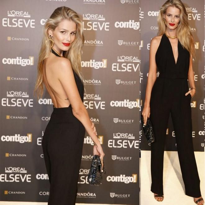 Yasmin arrasou de jumpsuit Valentino, minha inspiração/obsessão desta semana