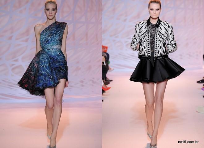 Looks curtos de Zuhair Murad na Paris Fashion Week Outo Inverno 2014-2015