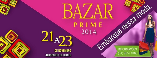 Panfleto do Bazar Prime 2014