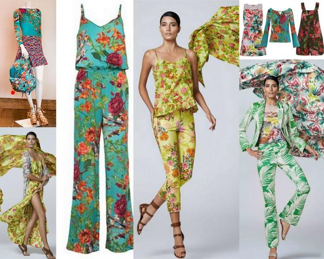 Bodys, saias, croppeds, casacos e calças da coleção La Estampa para C&A.