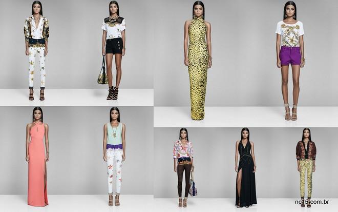 Mais peças da coleção Versace para Riachuelo
