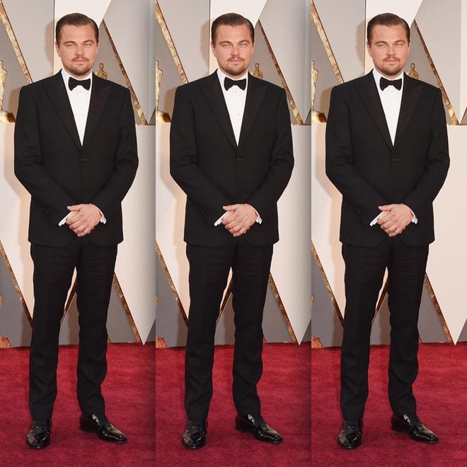 Leonardo DiCaprio no Oscar 2016
