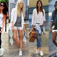 56 inspirações para você também aderir ao look fashion and comfy com tênis