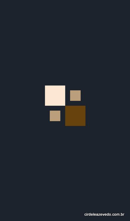 Logo do FindMyShade: quatro quadrados em tons de pele