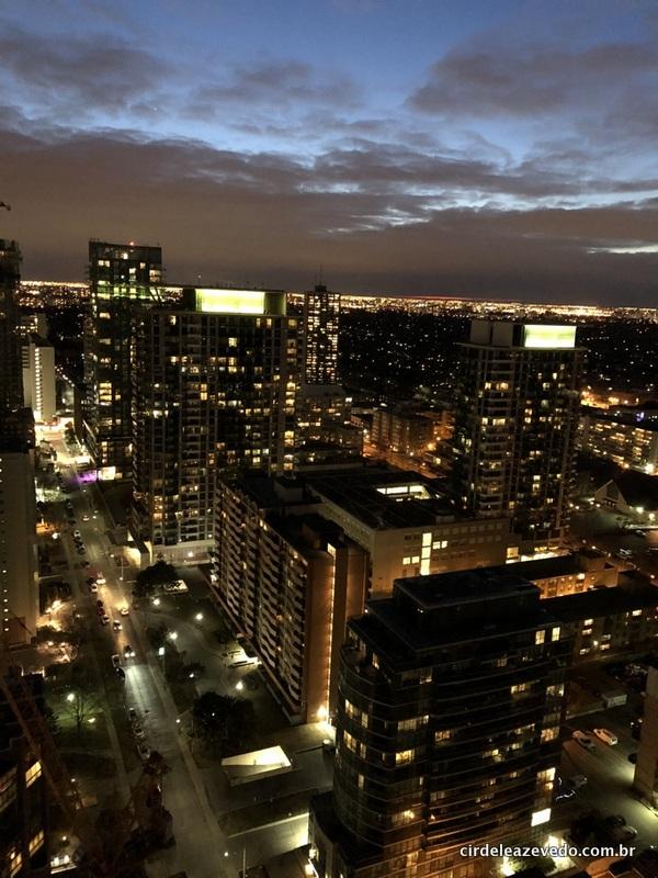 Vista natura da cidade de Toronto