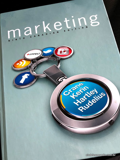 Capa do meu livro marketing canadense
