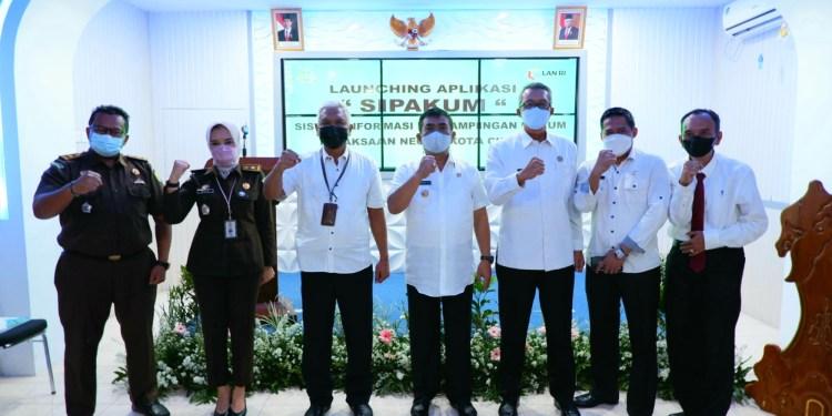 Wali Kota: Aplikasi Sipakum Perkuat Sinergi Pemda dan Kejari Kota Cirebon