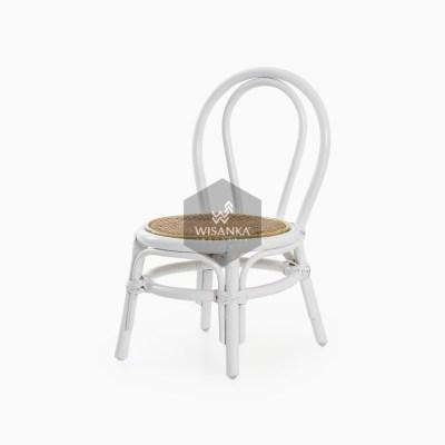 Kala White Natural Rattan Chair | Kala Kid's Rattan Chair | Kala Kid's furniture chair