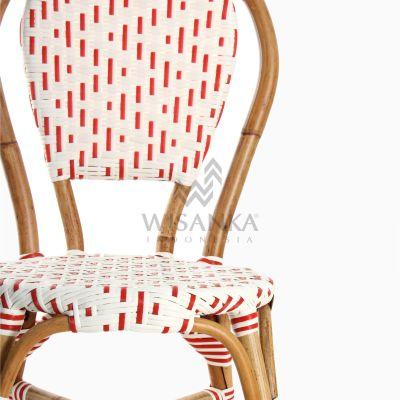 Aren Bistro Chair Aren Wicker Dining Chair Detail 1