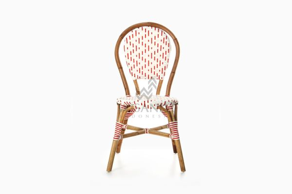 Aren Bistro Chair Aren Wicker Dining Chair front