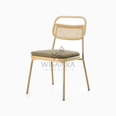 Akina Side Chair - Dining Natural Rattan Furniture
