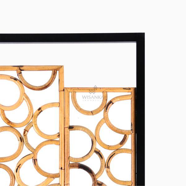 Paros Divider - Natural Rattan Furniture detail