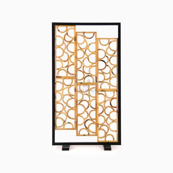 Paros Divider - Natural Rattan Furniture front