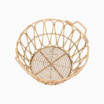 Domy Basket Natural Rattan Furniture top