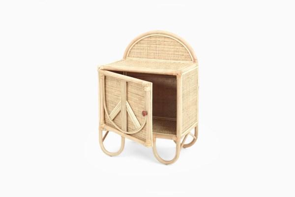 Aurora Kids Wardrobe - Rattan Child Furniture