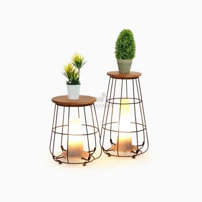 Gentong Floor Lamp - Living Room Floor Lamp-on