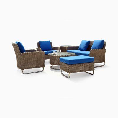 Chalta Living Set - Garden Rattan Furniture Outdoor