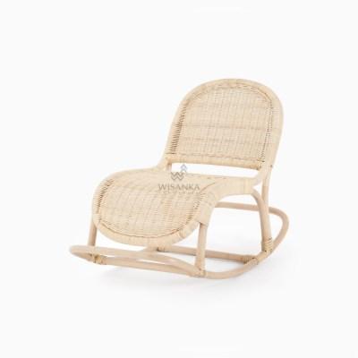 Indiana Doll Rocking Chair - Wicker Kids Furniture