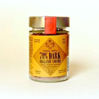 70% DARK Organic Cocoa