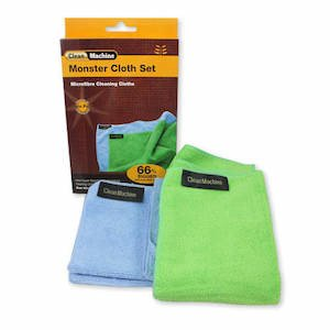 Monster cloth set by Clean Machine