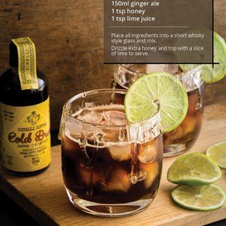 Cirelli Cold Brew Ginger Ale Mocktail recipe