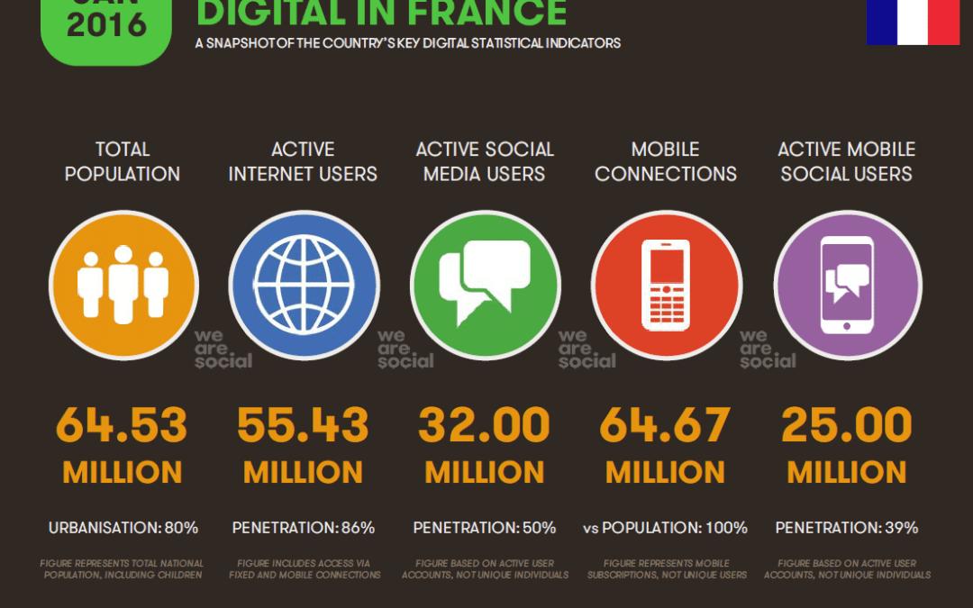 Réseaux sociaux & e-commerce en France (Bilan Digital France 2016)