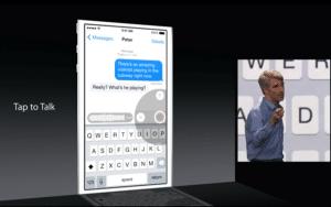 Laura Ciriani Communication Conférence Apple WWDC 2014 : les nouveautés d'iOS8 Editorial web  WWDC ipad iOS8 iOS Apple