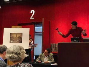 Le marteau de Charlotte van Gaver tombe : adjugé