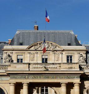 Le Conseil d'Etat à Paris