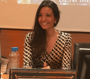 Laure-Alice Bouvier maître de conférence en droit public