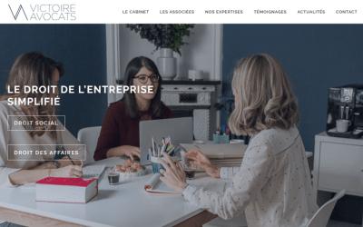 Stratégie marketing et communication de Victoire Avocats à Paris